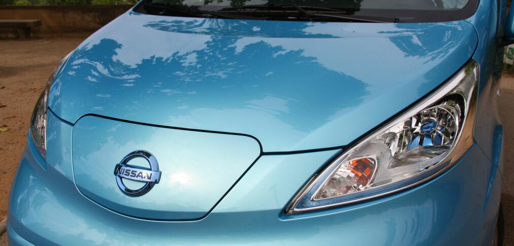 Nissan e-NV200 prøvekjørt