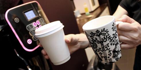 Gjetter du hvilken kopp som er best for miljøet?