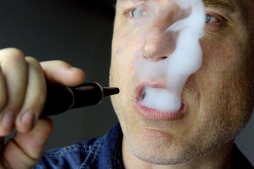 KAN GÅ OPP I DAMP: Dinside har tidligere skrevet at du har angrerett på blant annet e-sigaretter. Men den nye loven åpner for å nekte angring på intime produkter, samt kreve erstatning om butikken mener varen har mistet verdi.  Foto: OLE PETTER BAUGERØD STOKKE