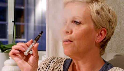 - Derfor damper vi e-sigaretter