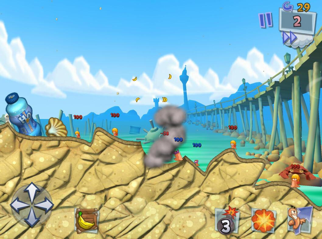 <strong><strong>KABOOM:</strong></strong> Få spill har så mye våpen tilgjengelig som Worms.
