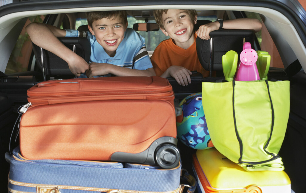 UTFORDRINGEN: Det er når feriebilen skal pakkes at utfordringene dukker opp. Foto: SHUTTERSTOCK Foto: Colourbox