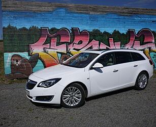 image: TEST: En Opel Insignia i siget