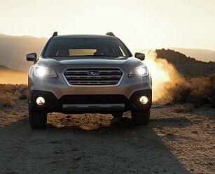 image: Helt ny Subaru Outback på vei