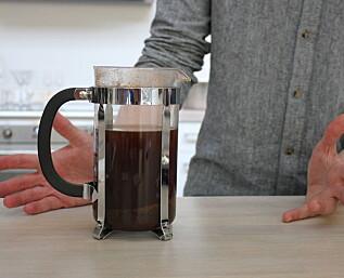 Slik lager du kaffe uten utstyr