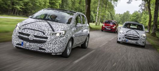 Kamuflert test: Opel Corsa E