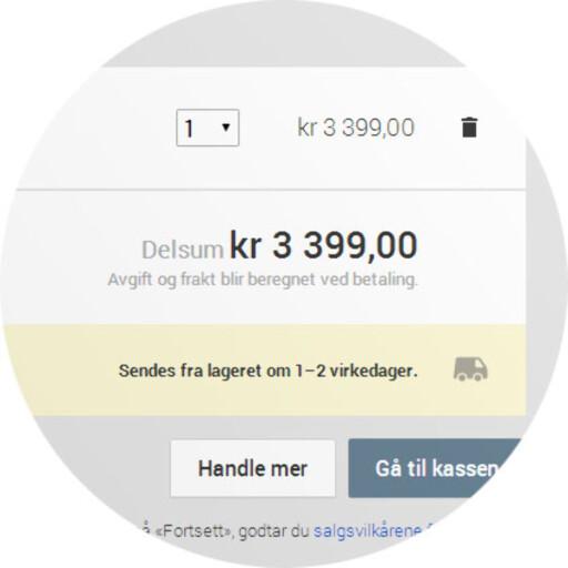 DITT VALG: Vil du betale litt mer for å handle direkte fra Google? Vi kan ennå ikke si om det har hverken fordeler eller ulemper. Foto: OLE PETTER BAUGERØD STOKKE