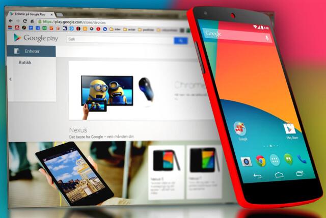 8232de2fe Nettbutikk: Nå kan du kjøpe dingser hos Google Play i Norge - DinSide