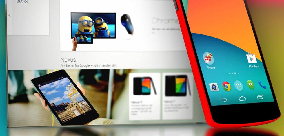 image: Nå kan du kjøpe dingser hos Google Play i Norge