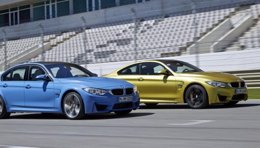 Testet: BMW M3 og M4