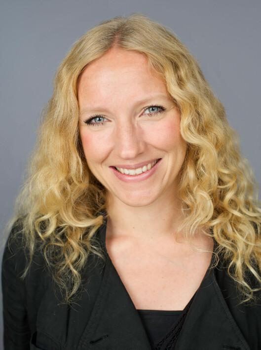 <strong><b>DRUETILHENGER:</strong> </b>Markedsdirektør Lise Kjær i Sunniva sier druejuice er lurt å bruke for å fremheve andre fruktsmaker.  Foto: CF-WESENBERG/TINE