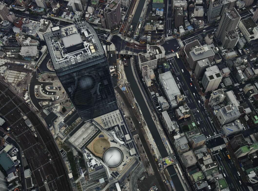 Tokyo Skytree, hele 350 meter over bakken.  Foto: ALLOVER