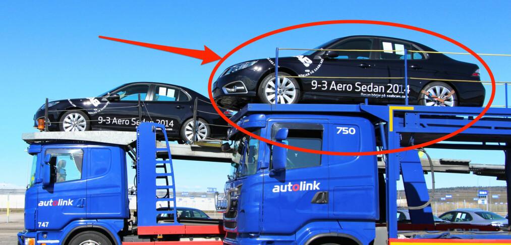 Bilskatt selges på auksjon i Sverige