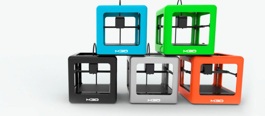 <strong><strong>3D FOR «ALLE»:</strong></strong> The Micro koster under 2000 kroner og er en 3D-skriver myntet på hjemmebrukeren. Foto: PRODUSENTEN