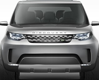 Land Rover Discovery forhåndsvist som konsept