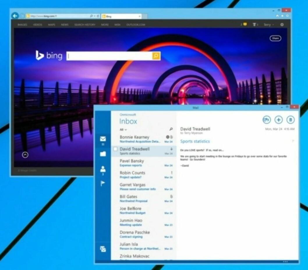 Muligheten for å kjøre Modern UI-apper i vinduer er noe mange har savnet. Snart blir også det mulig, og dermed er de fleste broene mellom den klassiske og den moderne Windows-verdenen på plass.