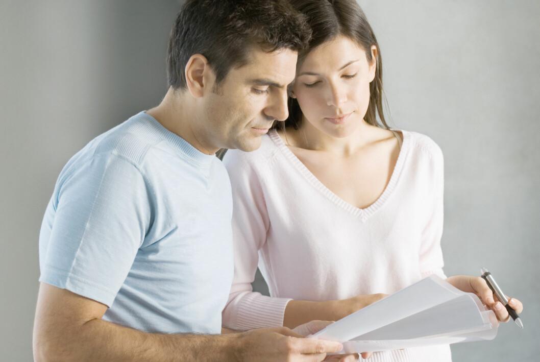<strong><b>RENTER:</strong></b> Rentene du betaler på ulike lån, gir grunnlag for skattefradrag på selvangivelsen. Sørg for at samboeren din ikke stikker av med pengene du har krav på.  Foto: COLOURBOX