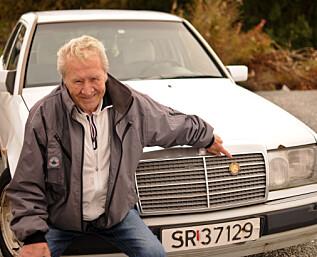 Magnus har kjørt bilen sin 3,4 millioner kilometer