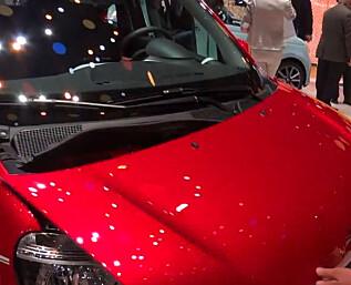 Renault Twingo med underlig løsning