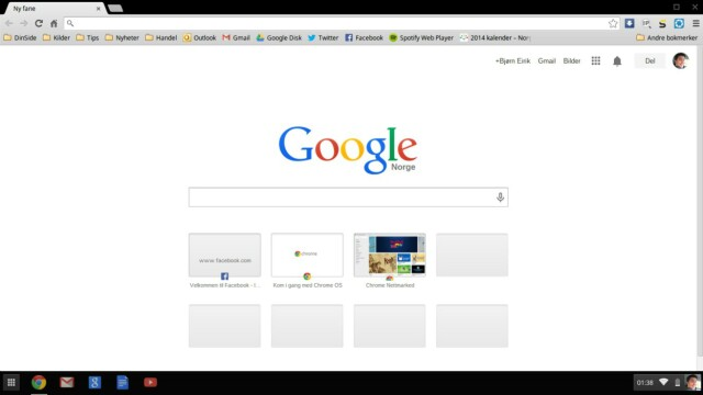 5ea9303c2 Test: Samsung Chromebook 2 og Chrome OS - DinSide