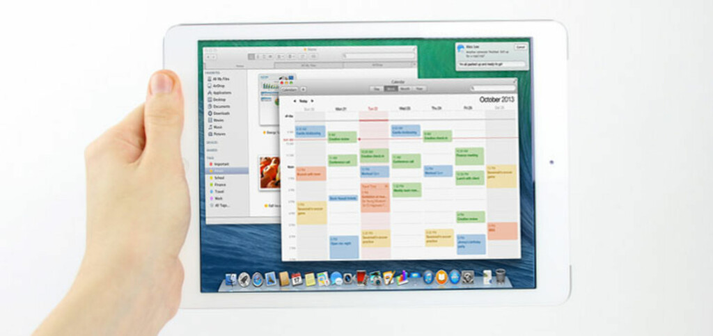 OS X for iPad? Neppe. Foto: DinSide