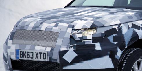 Spionbilder av ny Land Rover