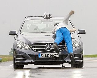 Mercedes og BMW skuffer i sikkerhetstest