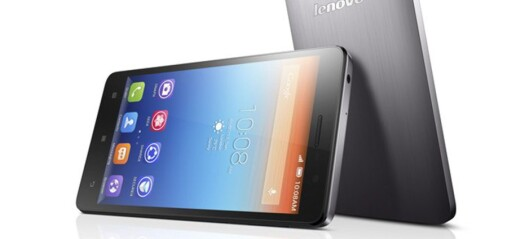 Lenovo lanserer smartmobil med gigantbatteri