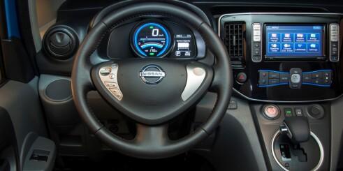 Nissan e-NV200 er elektrisk for familien