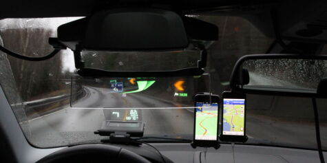 image: TEST: Head-up display for folket