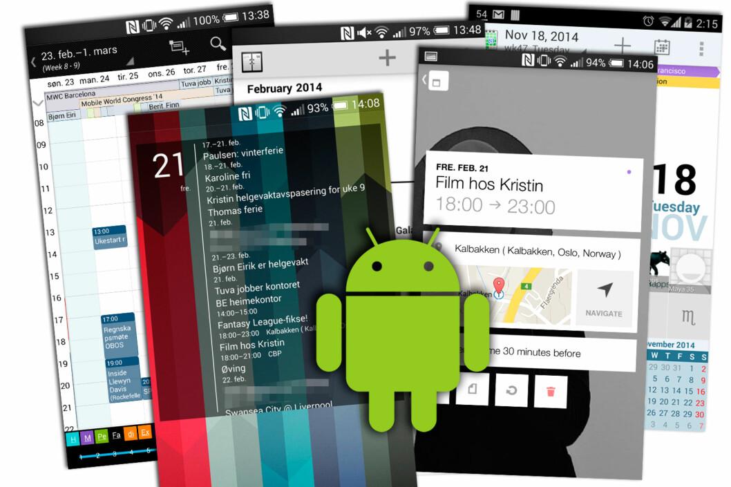 <strong>HVA SKJER'A:</strong> Med en god kalenderapp på Android-mobilen får du full oversikt. Foto: KIRSTI ØSTVANG