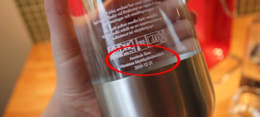 Burde du skifte ut flasken din?