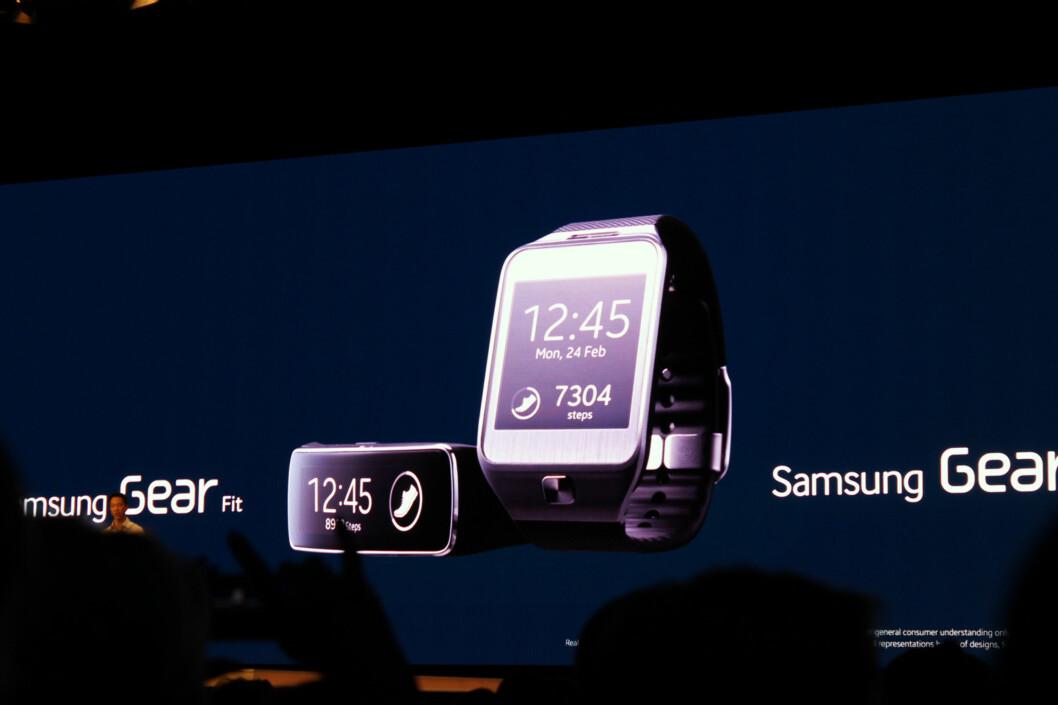 <strong>HA-PÅ:</strong> Her er noe av tilbehøret Samsung lanserte sammen med Galaxy S5. Foto: KIRSTI ØSTVANG