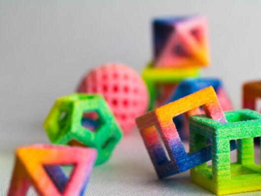 Med en Chefjet kan man lage unikt sukkertøy som er umulig å støpe i noen form. Foto: 3D Systems