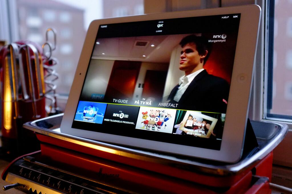 BEST BATTERI: Apple setter konkurrentene i sjakk matt. Foto: OLE PETTER BAUGERØD STOKKE