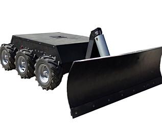Hva med en fjernstyrt brøyterobot?