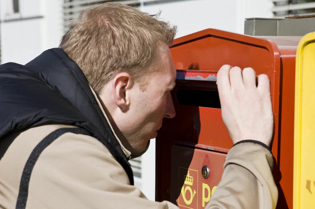 POPULÆR KILDE: Det sendes mye sensitivt som vanlig post i Norge. Dermed har ID-tyveriene en kilde til opplysninger de trenger for å svindle deg.  Foto: Colourbox.com