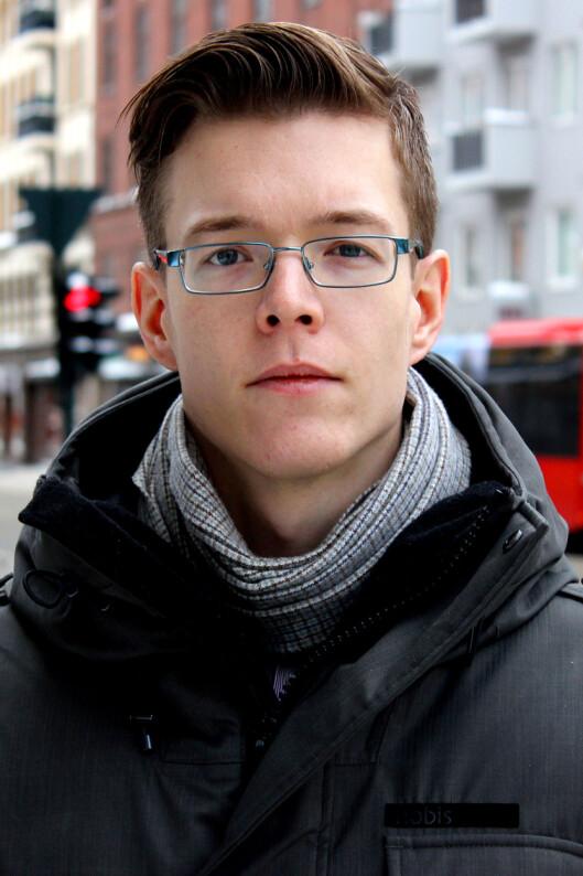 <strong>ØYEÅPNER:</strong> Einar Otto Stangvik håper søkemotoren hans vil øke bevisstheten rundt sikkerhet i Norge.  Foto: OLE PETTER BAUGERØD STOKKE