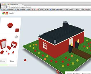 Bygg Lego rett i Chrome