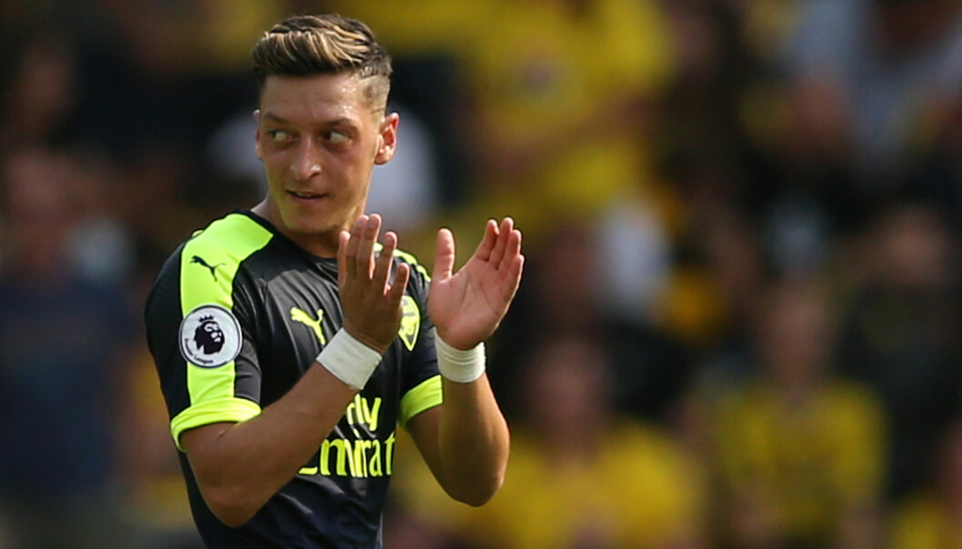 <strong>SCORET:</strong> Mesut Ozil. Foto: Reuters / Andrew Boyers&nbsp;