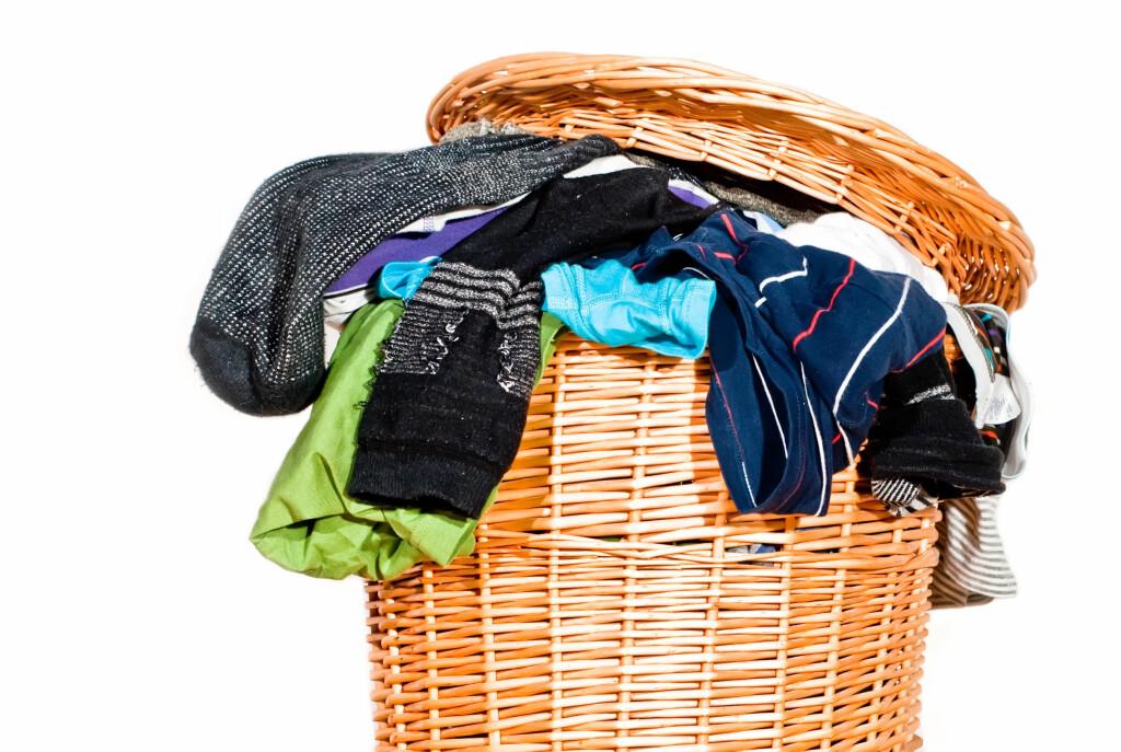 <b>60 GRADER:</b> Du bør ikke slurve med temperaturen, ikke minst ved vask av undertøy og håndklær. Foto: PANTERMEDIA