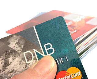 Sjekk om du er i kredittkort-faresonen