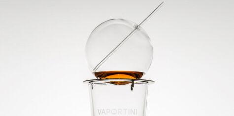 image: Glasset som lar deg innhalere drinken