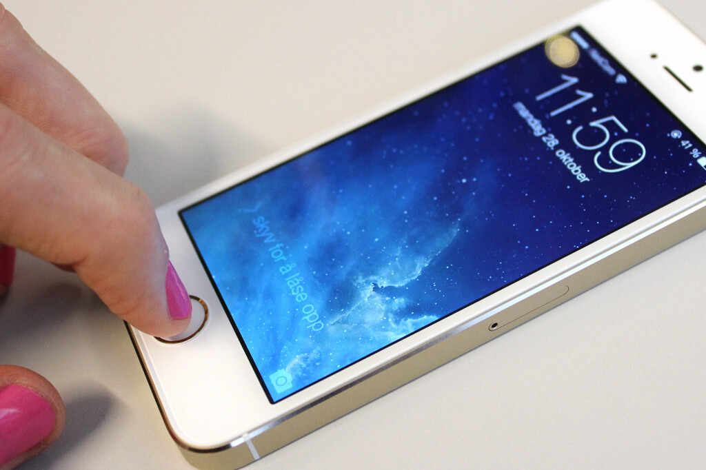 iphone skjerm virker ikke
