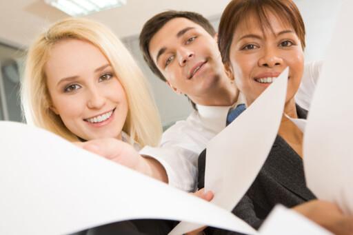 MANGE OM BEINET: Vil du ha ny jobb må du skille deg fra mengden, helst ved å gjøre alt riktig.  Foto: Colourbox