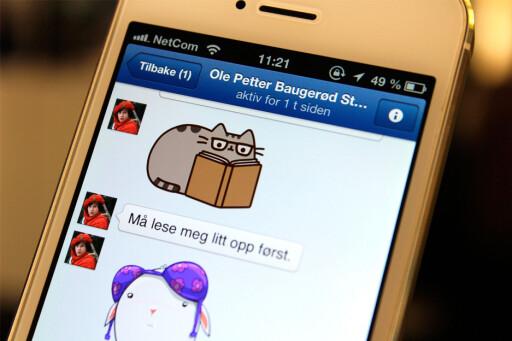 VIL VEKK: Det er tydeligvis mange som ikke ønsker å bruke Facebook mer.  Foto: KIRSTI ØSTVANG
