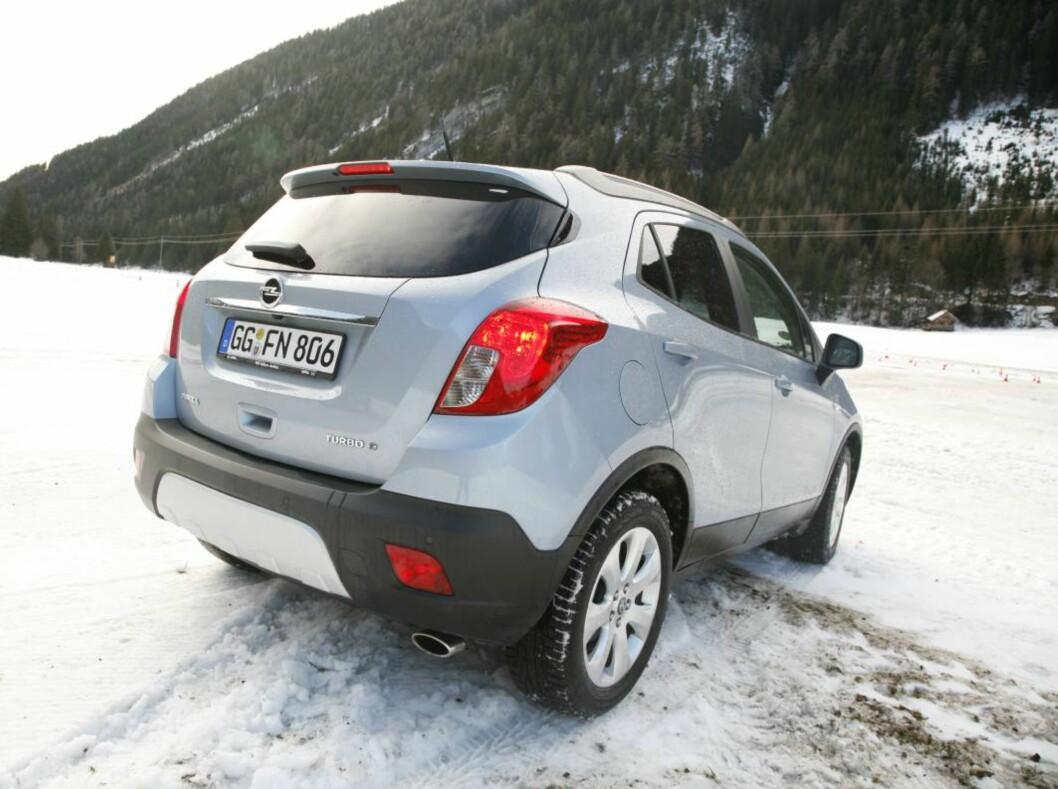 Opel Mokka... Foto: Knut Arne Marcussen