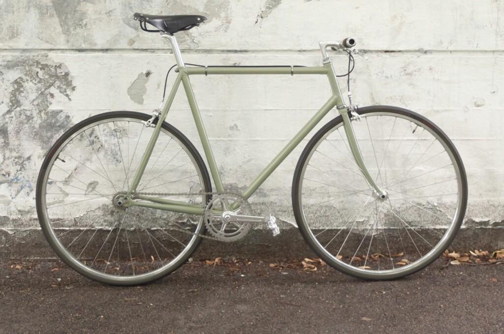 <strong>HELT NY:</strong> Her er Oslo Sykkelkompanis splitter nye modell, OSK 0173, kalt opp etter postkoden til butikkens nabolag.  Foto: Oslosykkelkompani.no