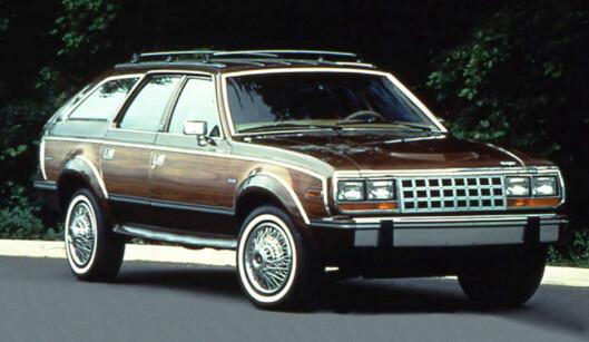 """<strong>TIDLIG UTE:</strong> AMC med sin Eagle fra 80-tallet har inspirert senere bilprodusenter til å utvikle """"Allroad"""" eller """"Cross Country""""-utgaver."""