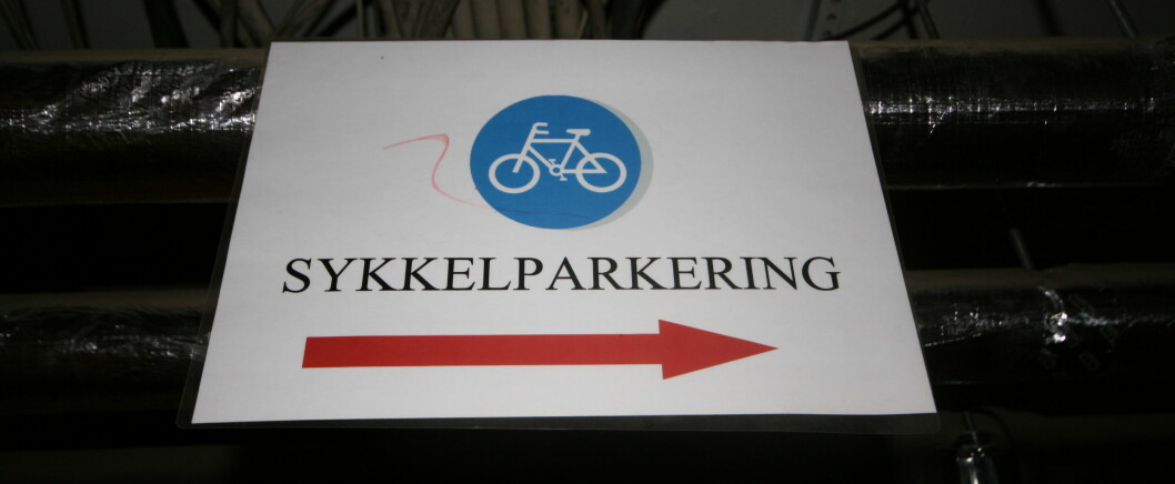 <strong><strong>MOTIVERENDE:</strong></strong> Det hjelper voldsomt på motivasjonen å ha et trygt sted å parkere sykkelen på jobb. Men ikke alle er så heldige.  Foto: Thomas Strzelecki